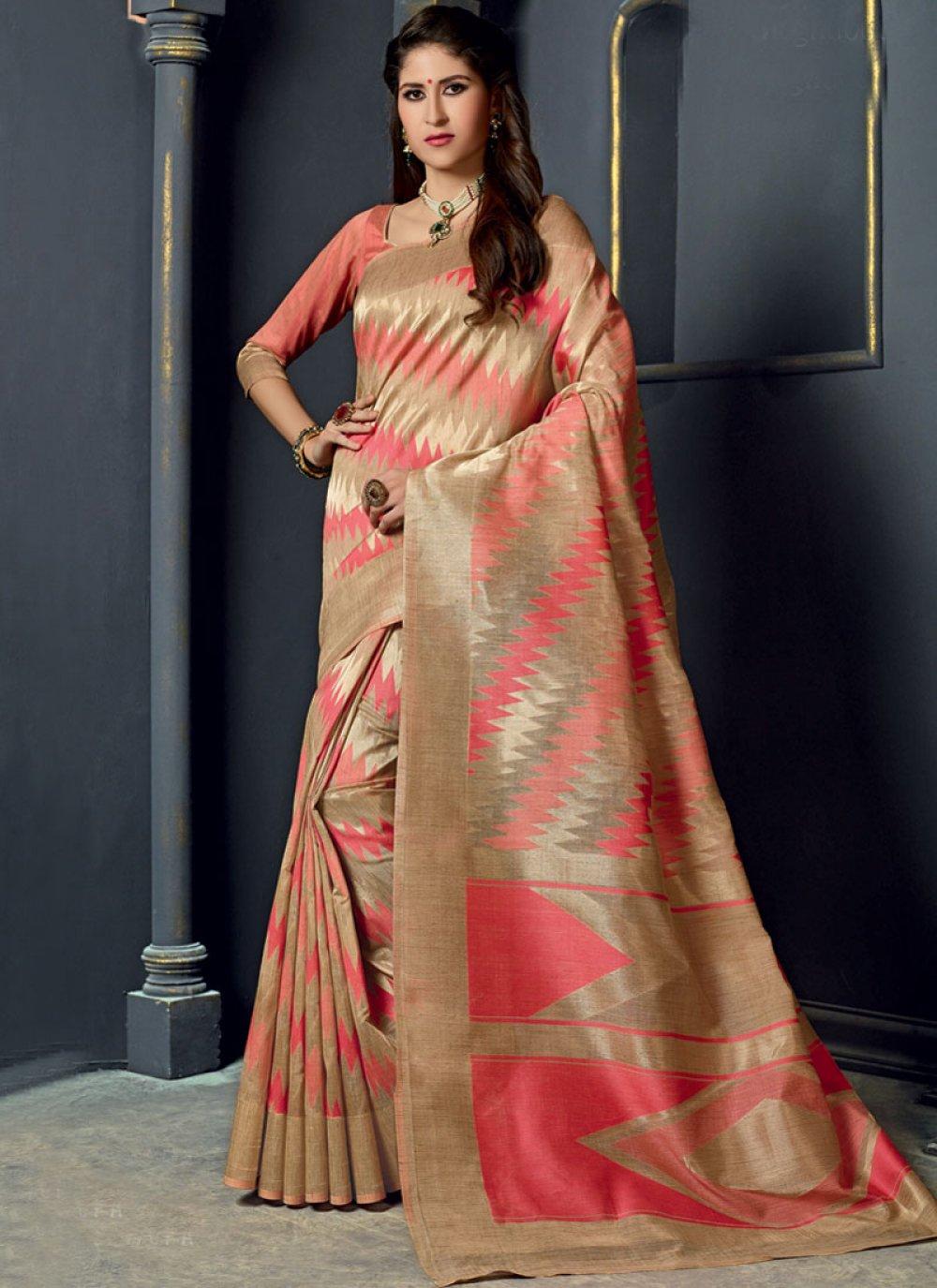 Multi Colour Color Traditional Designer Saree