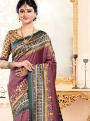 Multi Colour Color Traditional Designer Saree