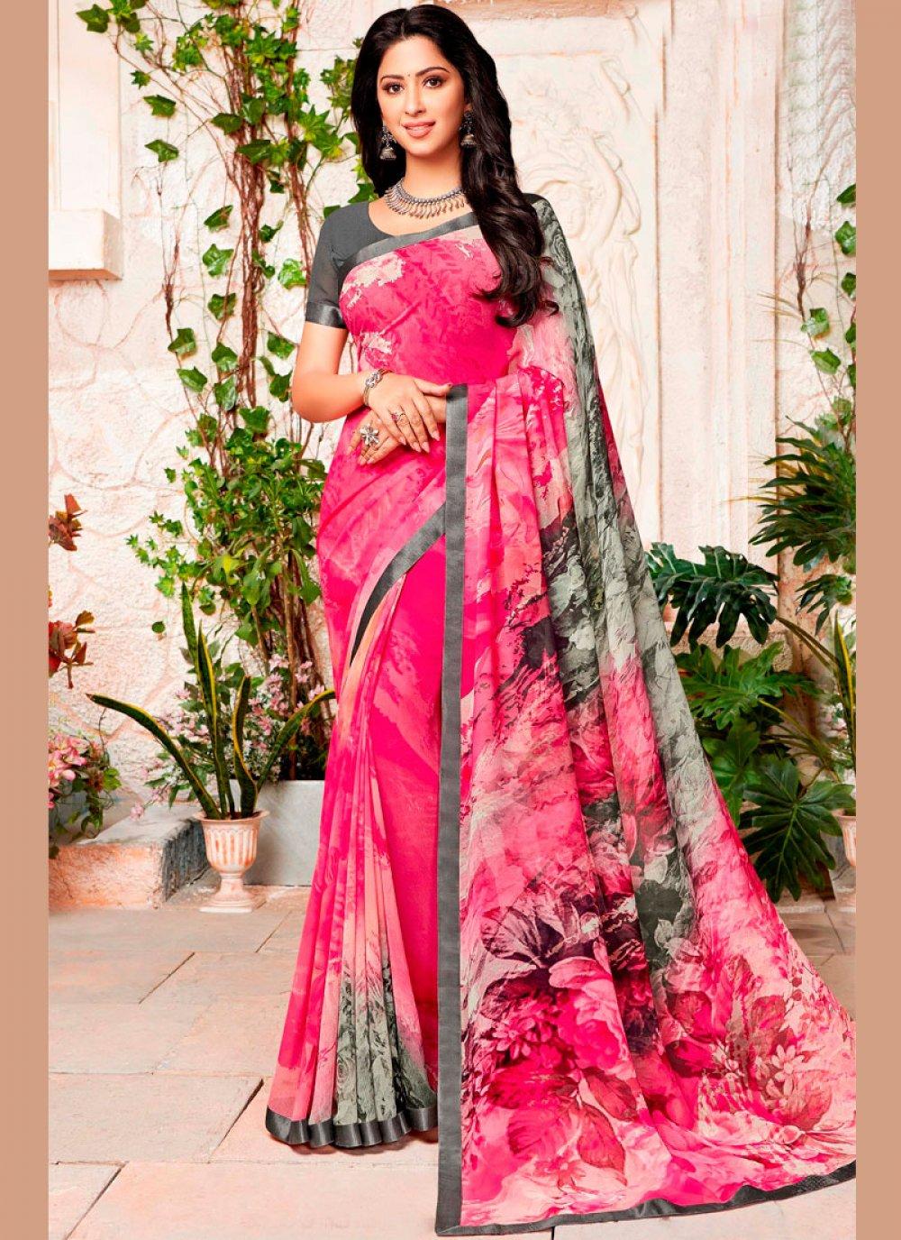 Multi Colour Color Trendy Saree