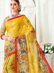 Multi Colour Cotton Casual Saree