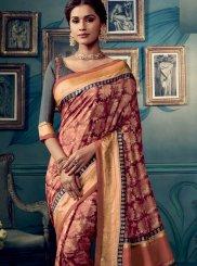 Multi Colour Cotton Silk Weaving Traditional Saree