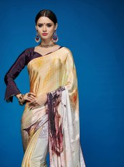 Multi Colour Crepe Silk Casual Casual Saree