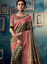 Multi Colour Designer Traditional Saree