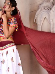Multi Colour Fancy Festival Lehenga Choli
