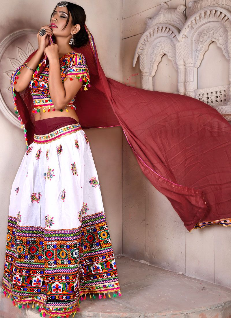 Multi Colour Fancy Festival Lehenga Choli