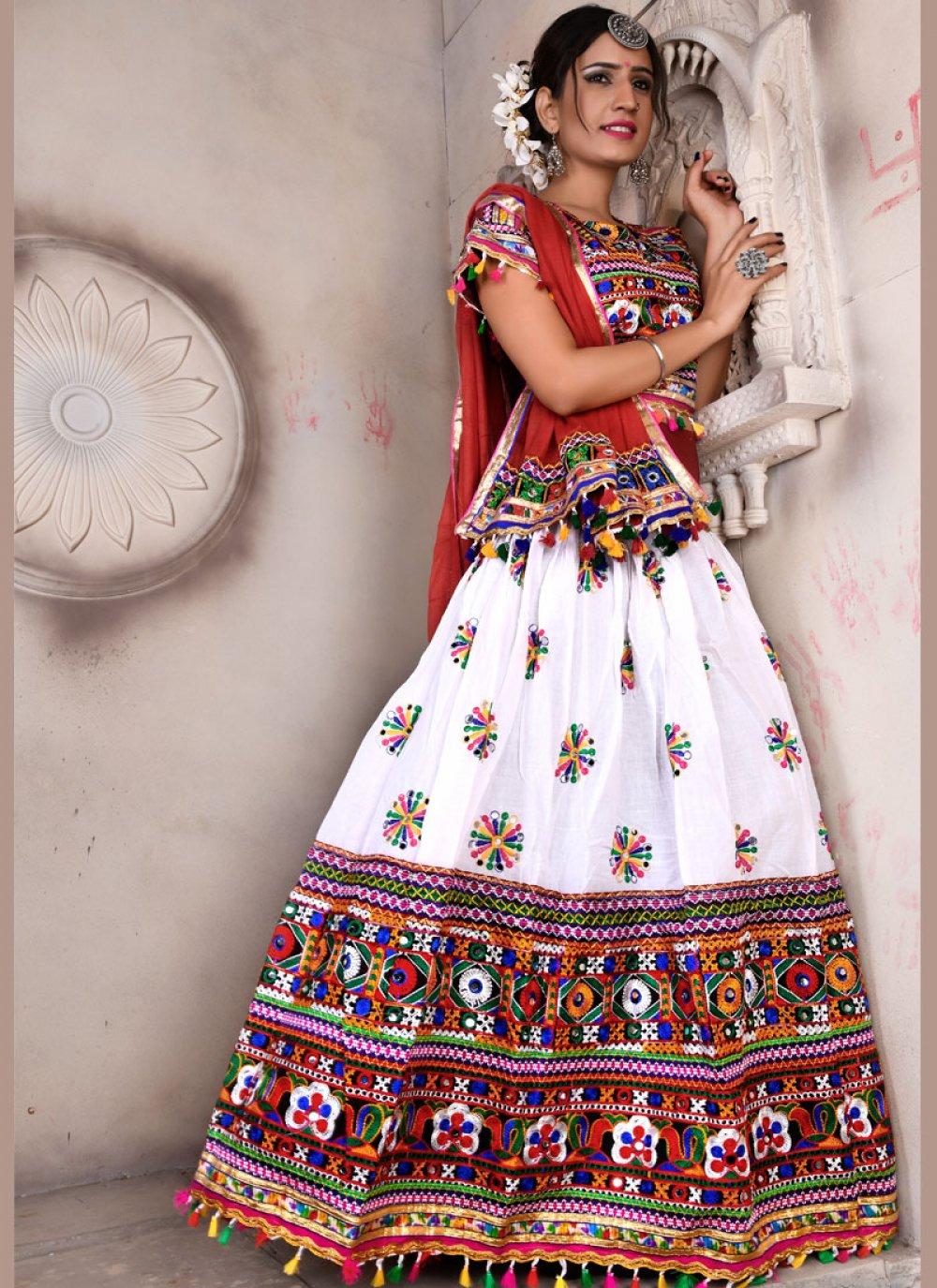 Multi Colour Fancy Lehenga Choli