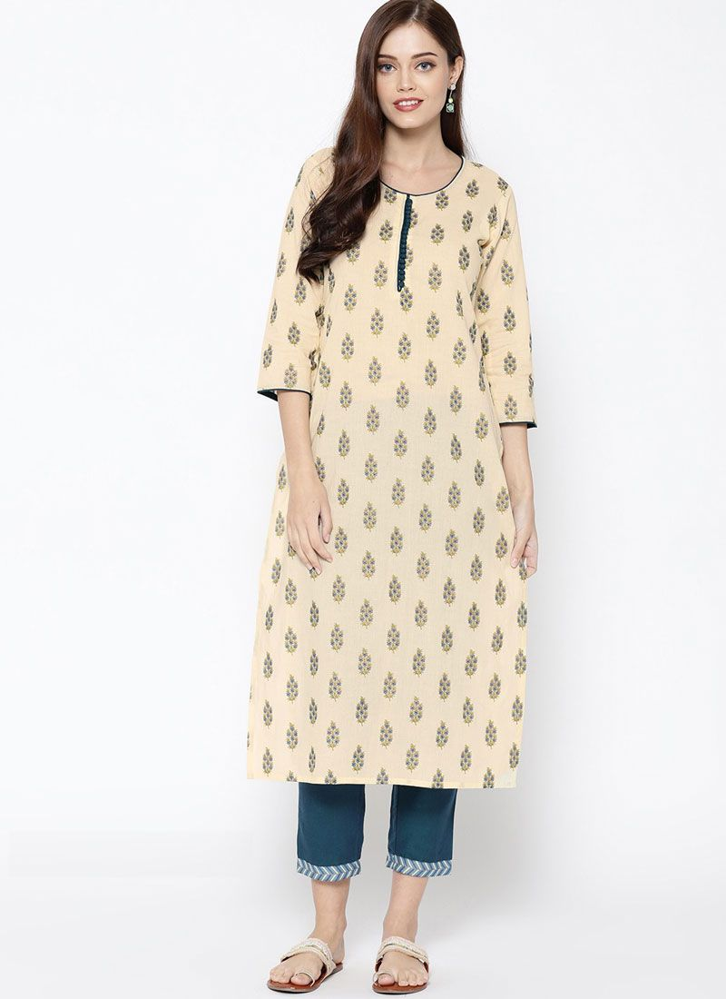 Multi Colour Festival Casual Kurti