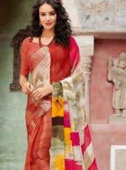 Multi Colour Festival Casual Saree