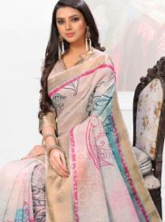 Multi Colour Festival Casual Saree