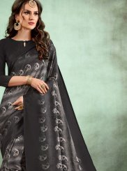 Multi Colour Festival Fancy Fabric Casual Saree
