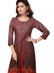 Multi Colour Festival Party Wear Kurti