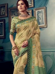 Multi Colour Festival Traditional Designer Saree