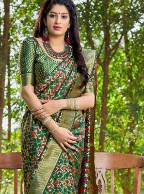 Multi Colour Festival Traditional Saree