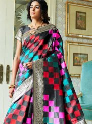 Multi Colour Festival Traditional Saree