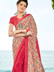 Multi Colour Half N Half  Saree