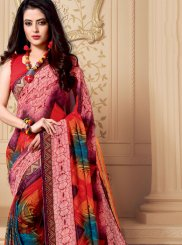 Multi Colour Party Casual Saree
