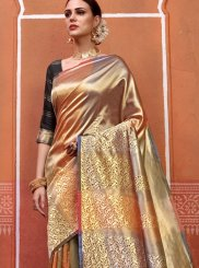 Multi Colour Party Designer Traditional Saree
