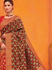 Multi Colour Party Traditional Designer Saree