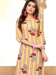 Multi Colour Party Wear Kurti