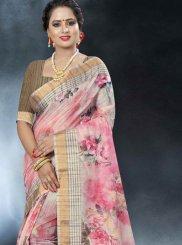 Multi Colour Printed Festival Classic Designer Saree