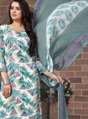 Multi Colour Printed Pakistani Salwar Kameez