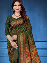 Multi Colour Traditional Designer Saree