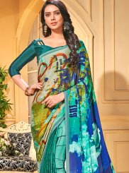 Multi Colour Trendy Saree