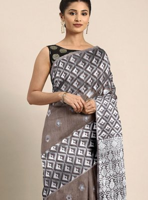 Multi Colour Weaving Ceremonial Traditional Designer Saree