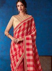 Multi Colour Weaving Party Classic Designer Saree