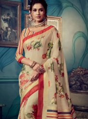 Multi Colour Weaving Traditional Designer Saree
