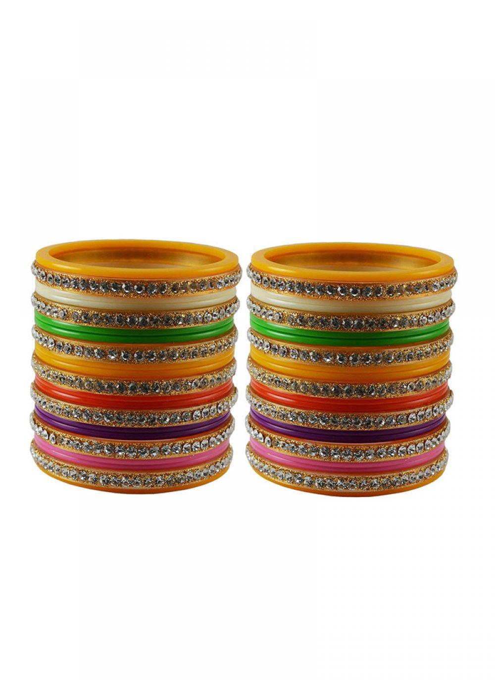 Multi Colour Wedding Bangles