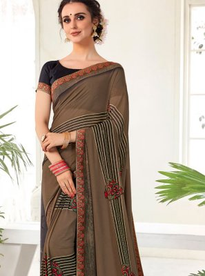 Multi Colour Weight Less Printed Saree