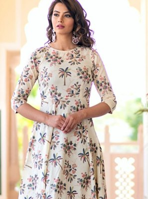 Muslin Festival Party Wear Kurti
