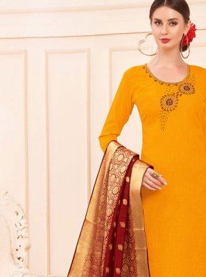 Mustard Casual Salwar Suit