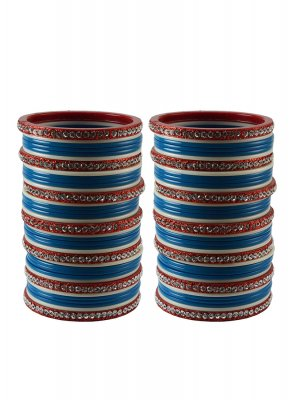Navy Blue Color Bangles