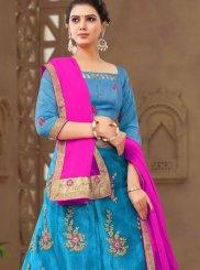 Net Blue Designer Lehenga Choli
