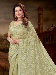 Net Ceremonial Designer Saree