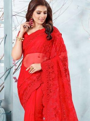 Net Ceremonial Traditional Designer Saree