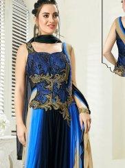 Net Ceremonial Trendy Designer Salwar Kameez