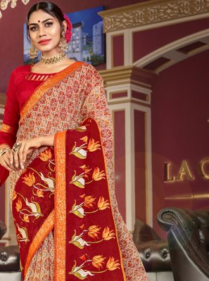 Net Designer Traditional Saree