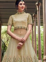 Net Embroidered Designer Gown