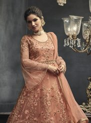 Net Festival Floor Length Anarkali Suit