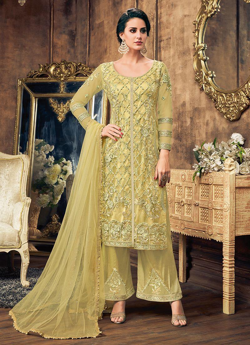 Net Pakistani Salwar Suit