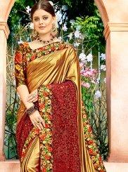 Net Patch Border Classic Designer Saree