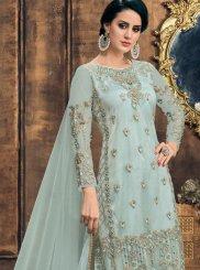 Net Pearls Designer Pakistani Suit