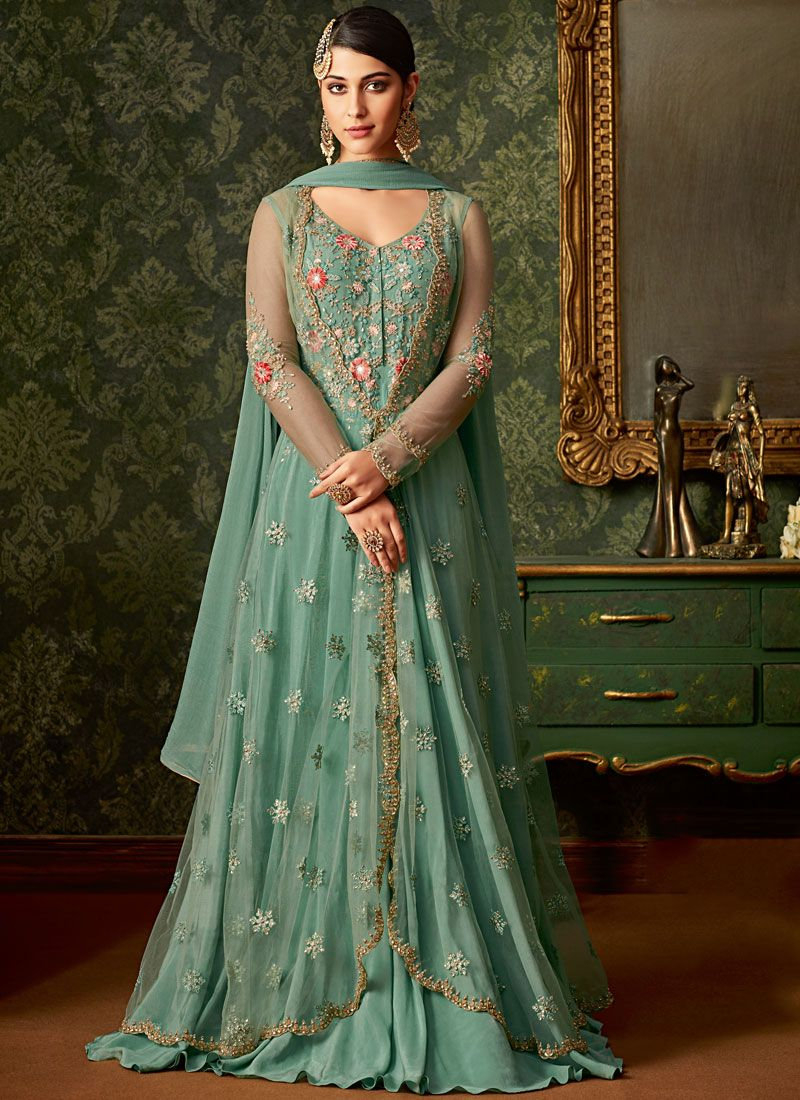 Net Wedding Designer Salwar Suit