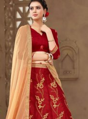 Net Wedding Trendy Lehenga Choli