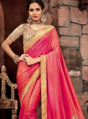 Orange Classic Saree