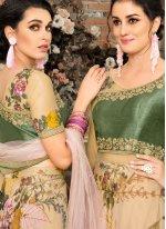 Organza Wedding Lehenga Choli