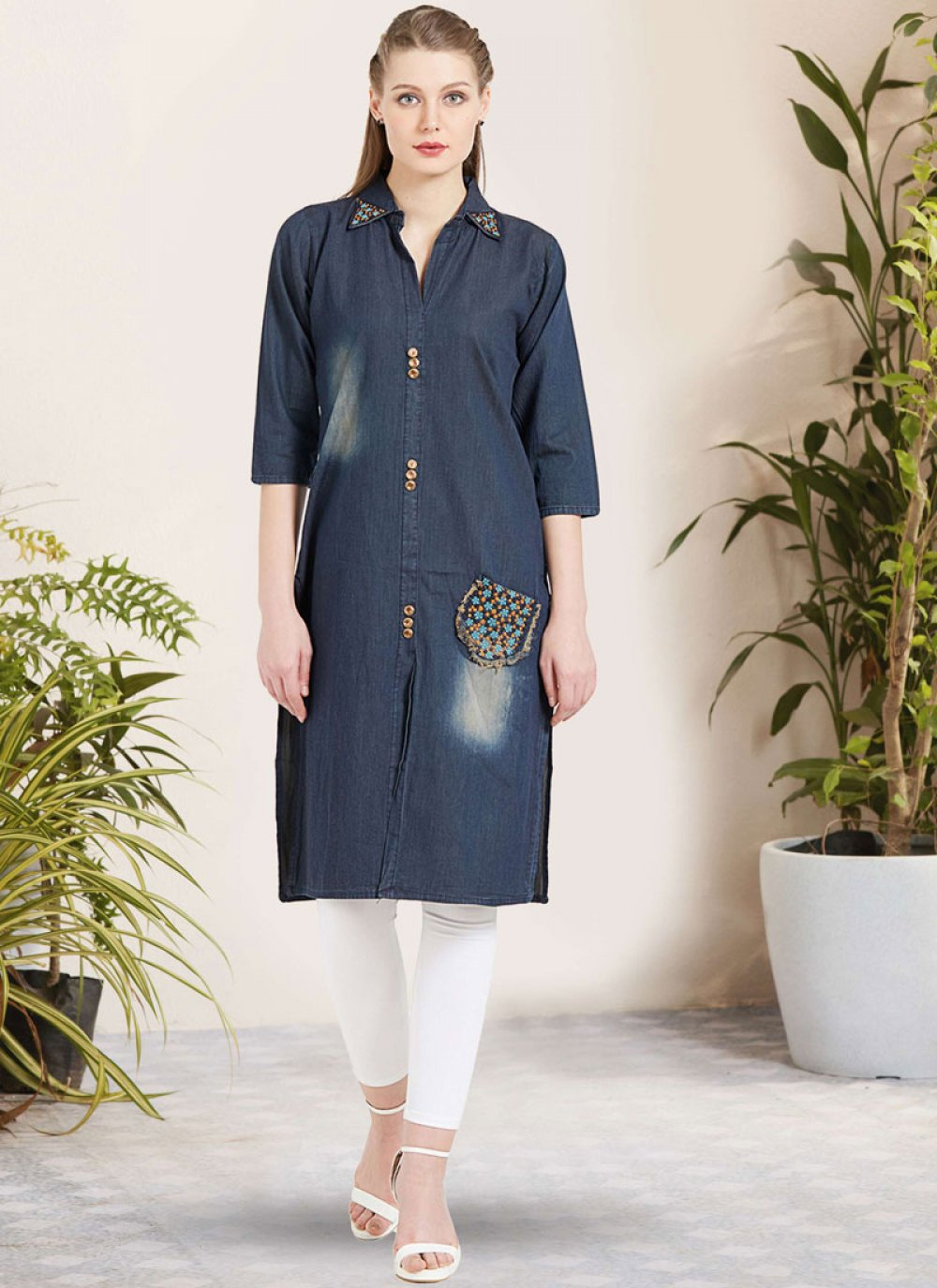 Party Wear Kurti For Reception